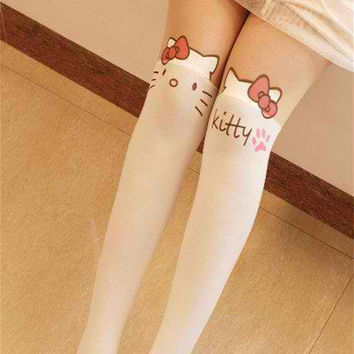 Harajuku Kitty Stockings