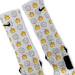 Volleyball Emoji Custom Nike Elite Socks