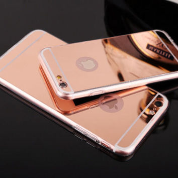 Fashion Sparkle Mirror Case for iPhone