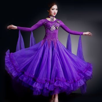 2016 manufacturers supply of Modern Dance Dress Dress Dance Dress Dance Performance dress square dance costumes