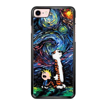 Van Gogh Calvin And Hobbes iPhone 7 Case