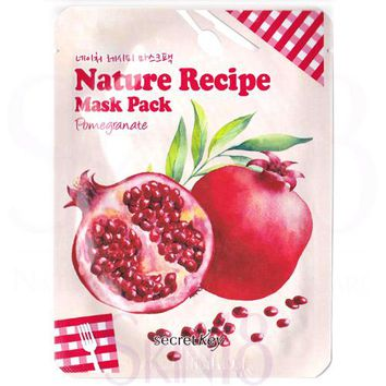 Secret Key Nature Recipe Pomegranate Mask Pack