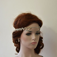 Rhinestone Headband, Wedding  Hair Accessory, Wedding Headband, Bridal Hair Accessory, Bridal Accessories