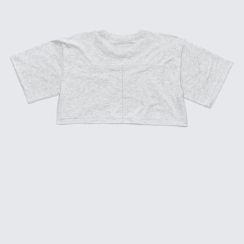 ‎‎Alexander Wang ‎EXCLUSIVE CROP TEE ‎ ‎TOP‎ | Official Site