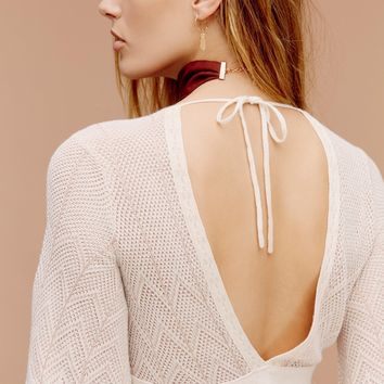 Free People Find Your Love Pointelle Mini