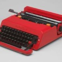 Ettore Sottsass and Perry King. Valentine Portable Typewriter
