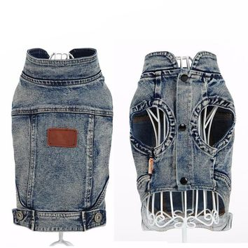Dog  Denim Vest - 2 Colors