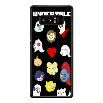 Undertale Icons Samsung Galaxy Note 8 Case