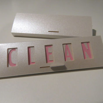 Clean / Dirty Dishwasher Magnet Sign (pink champagne)