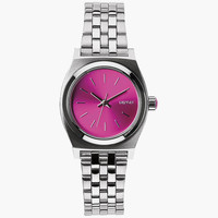 Nixon Small Time Teller Watch Pink Sunray One Size For Women 25989039801