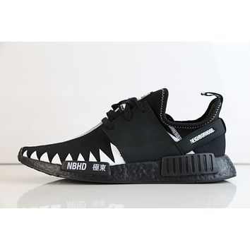BC DCCK Adidas X Neighborhood NMD R1 PK NBHD Black White DA8835 (NO Codes)
