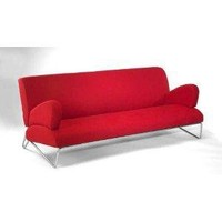 Directions East Easy Rider Couch Red Microdenier