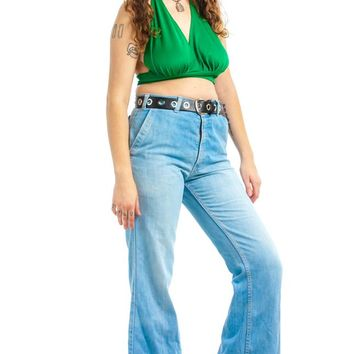Vintage 80's Levi's Movin' On Flares - XL