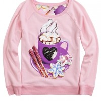 Sweet Photoreal Sweatshirt | Girls Tops Clothes | Shop Justice