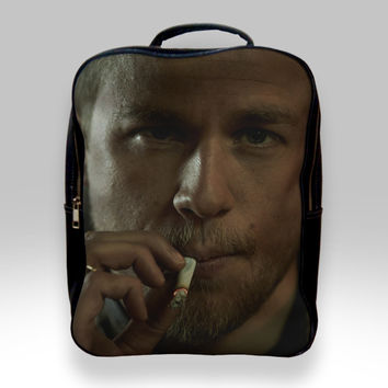 Backpack for Student - Charlie Hunnam Jax Teller Son of Anarcy Bags