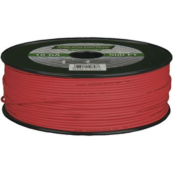 Install Bay 18-gauge Primary Wire 500ft (red)