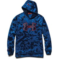 Under Armour Fleece Storm Printed Big Logo Hoody - Men's