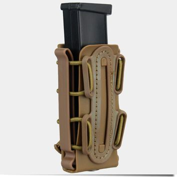 TMC 9mm Molle Pistol Mag Military Magazine Pouch Holster Fastmag Belt Clip 2779 soft shell mag pouch plastic molle pouch small