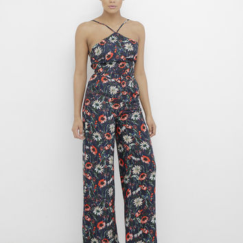 ORION FLORAL WIDE LEG PANT SET