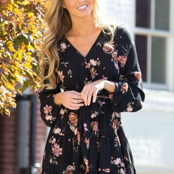 Unchanging Love Dress in Black | Monday Dress Boutique