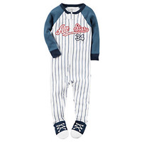 Baby Boy Carter's All-Star Baseball Footed Pajamas