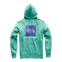 Men's Half Dome Pullover Hoodie in Porcelain Green & Deep Blue by The North Face - FINAL SALE