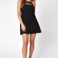 LA Hearts Crochet Front Babydoll Dress at PacSun.com