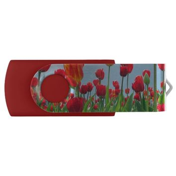 Tulips USB Flash Drive