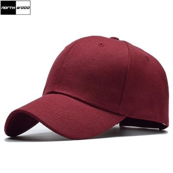 Trendy Winter Jacket [NORTHWOOD] Classic Solid Mens Baseball Cap Women Snapback Hip Hop Bone Trucker Cap Gorras Para Hombre Dad Hat Summer Cap AT_92_12