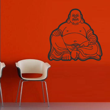 Wall decal art decor decals sticker hands Buddhism India Indian Buddha OM Yoga mehndi success god lord (m55)