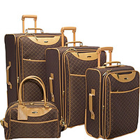 Pierre Cardin Signature 4-piece Expandable Luggage Set - eBags.com