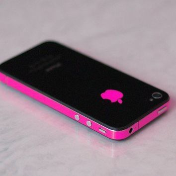 iPhone 4S Antenna Wrap Hot Pink by kellokult on Etsy