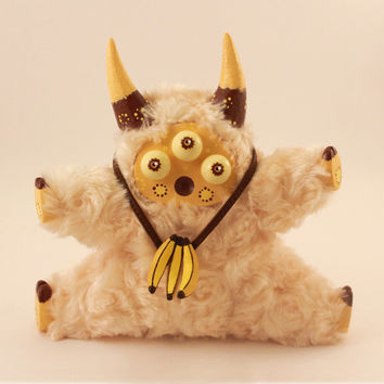 "Handmade Toy Psychedelic Little Lamb ""Maffin"""