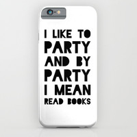 Party iPhone & iPod Case by Moop