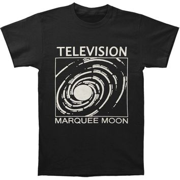 Television Men's  Television - Marquee Moon Swirl T-shirt Black