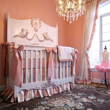 Mirabelle Baby Bedding : Romantic Baby Bedding at PoshTots