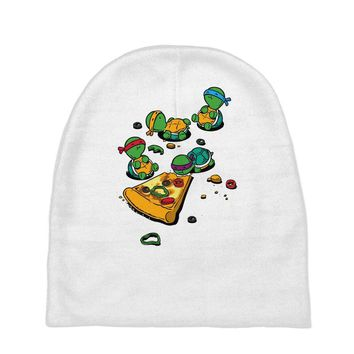 pizza lover Baby Beanies