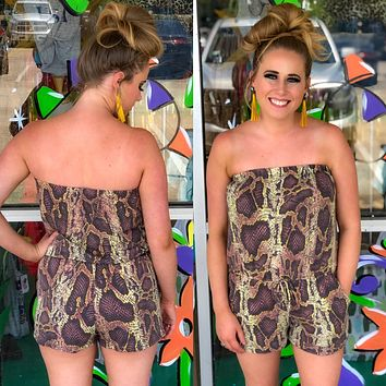 Golden Hour Romper