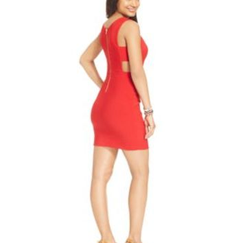 Emerald Sundae Juniors' Bodycon Cutout Dress | macys.com