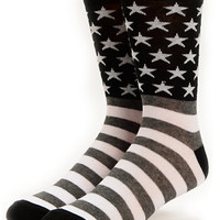 Empyre Black Flag Crew Socks