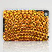 Golden Fan iPad Case by Lyle Hatch