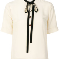 Gucci Bow Detail Top - Farfetch