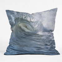 Lisa Argyropoulos Within the eye Blue Throw Pillow