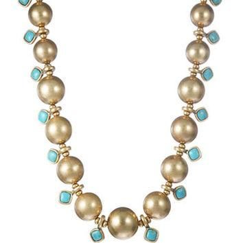Lauren Ralph Lauren Beaded Collar Necklace