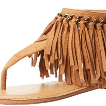 Not Rated Fringe Women's Comfy Summer time Sandal