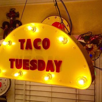 Taco Tuesday Marquee