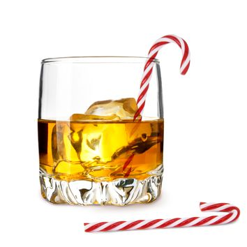 Drink Stirrers - Candy Cane