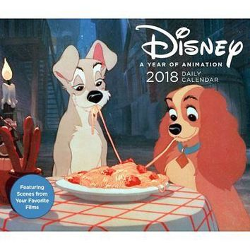 Disney Year of Animation Desk Calendar, Animated Movies by Chronicle Books
