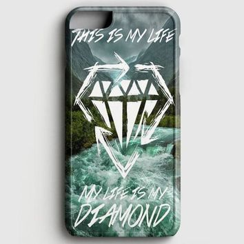 Stick To Your Guns My Life Is My Diamond iPhone 8 Case