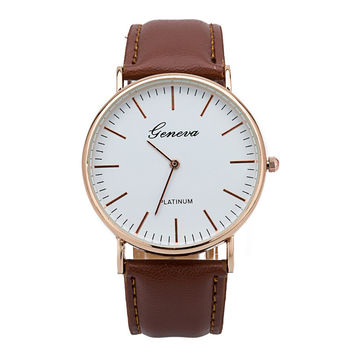 Hot Vintage Fashion Quartz Classic Watch Round Ladies Women Men Wristwatch Michael Kor Like On Sales = 4785491332